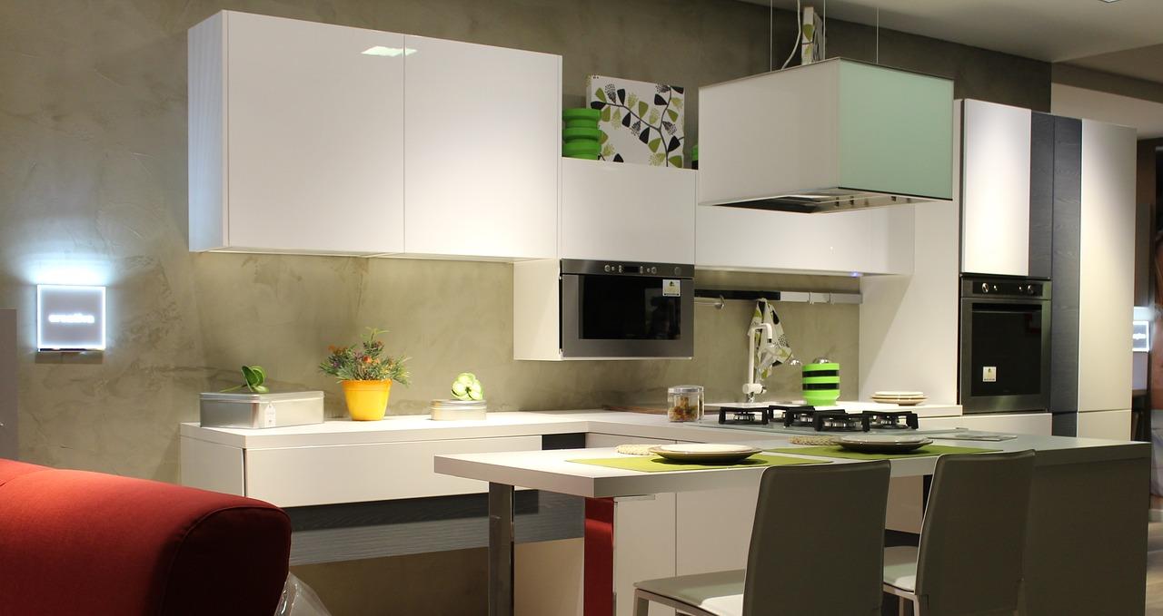 kuchyně v domě