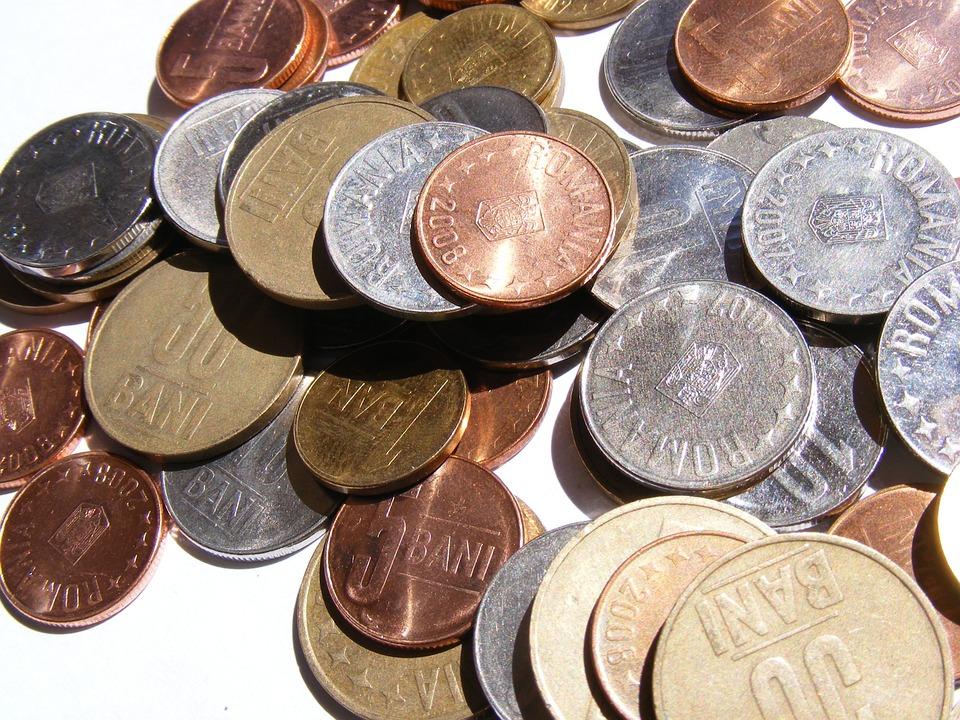 rumunské mince